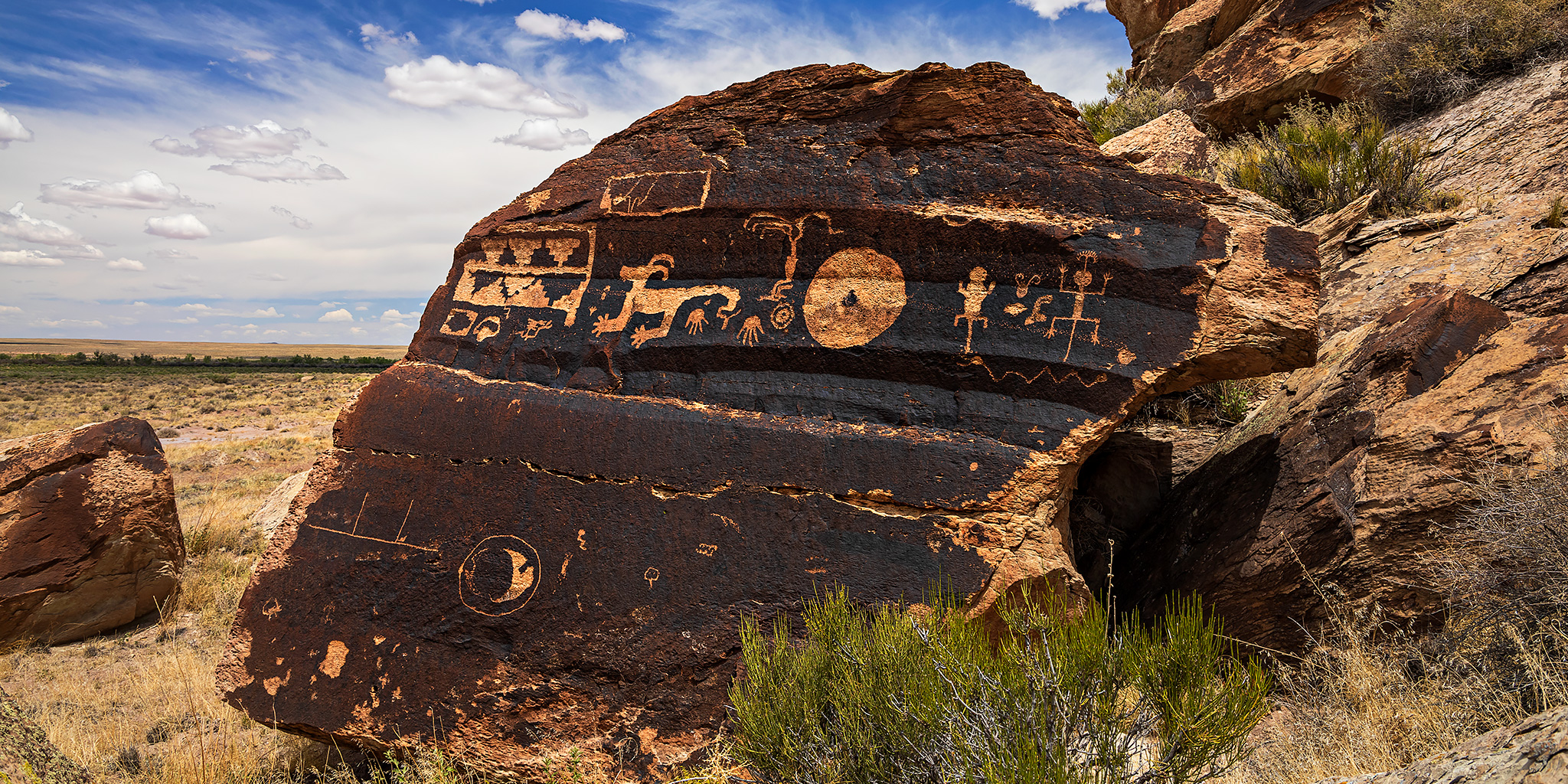 Petroglyphs of the Petrified Forest
