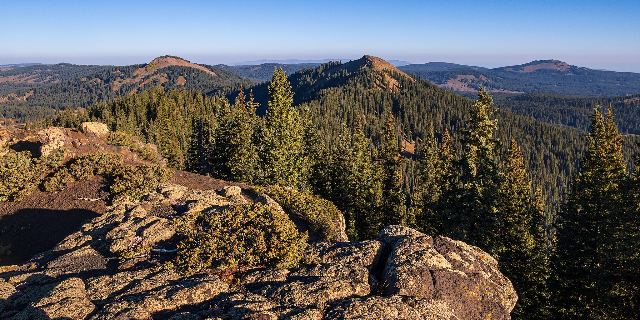 Highpoint of the Grand Mesa: Crater Peak