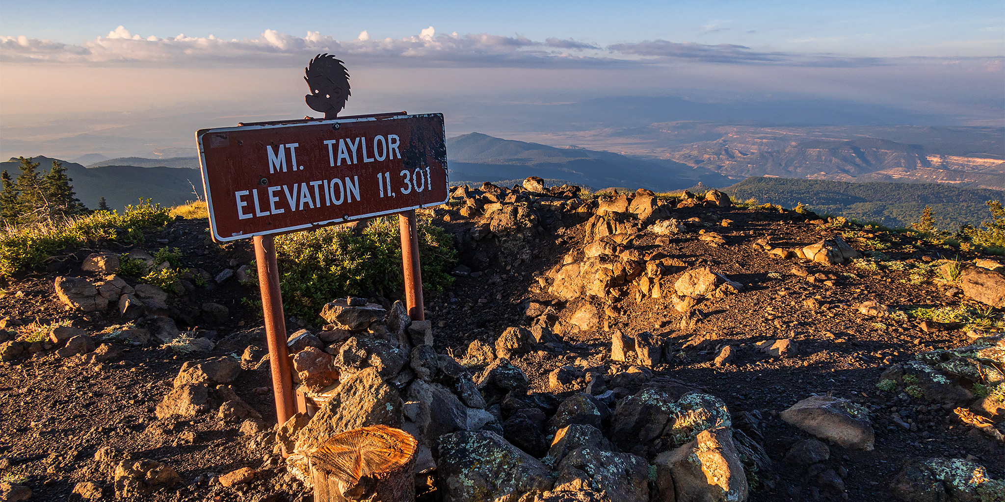 San Mateo Mountain: Mount Taylor & La Mosca